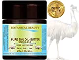 PURE EMU OIL- BUTTER. 100% Natural - RAW - VIRGIN - UNREFINED.for FACE, BODY, HANDS, FEET, NAILS & HAIR and LIP CARE. (4 Fl. oz. - 120 ml.)