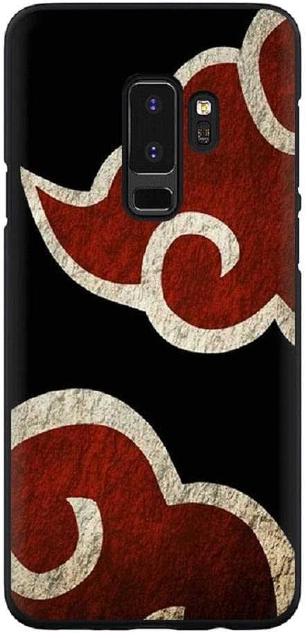 Anime Naruto Itachi Sasuke Soft TPU Phone Case for Galaxy S8 S9 S10 S20 Plus S10e Note 9 10 20 Plus Ultra Akatsuki Logo Obito Cover (5, Samsung S9 Plus)