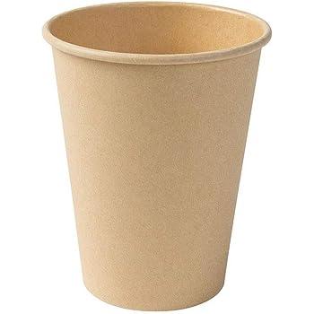 100 ML N//A Lot de 50 gobelets biod/égradables jetables en Carton Blanc pour caf/é ou Expresso