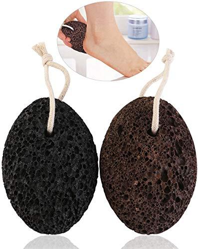 Paquete de 2 piedras pómez PIXNOR para durezas y cuidado de los pies