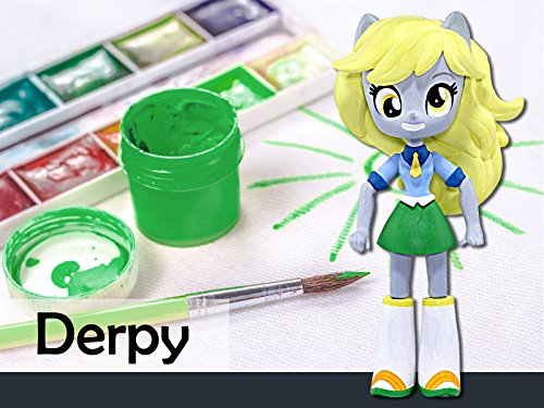 How to Make a Custom Derpy Hooves Mini Doll