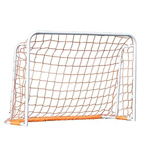 ZJM Ice Hockey Lacrosse Goal, Kids Outdoor Soccer Goals for Backyard Lawn...