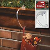Floristrywarehouse Pack of 2 Adams Safety Grip Mantel Stocking Hangers Christmas Stocking Hooks