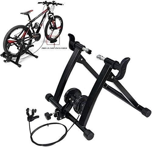 Ancnan Bicicleta doméstica Turbo Trainer Indoor Turbo Trainer MTB Road Ciclismo Rodillo Estación de Ejercicio de Bicicleta Resistencia Bicicleta magnética Turbo Trainer