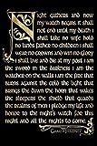 Game of Thrones - Nachtwache Poster Drucken (60,96 x 91,44