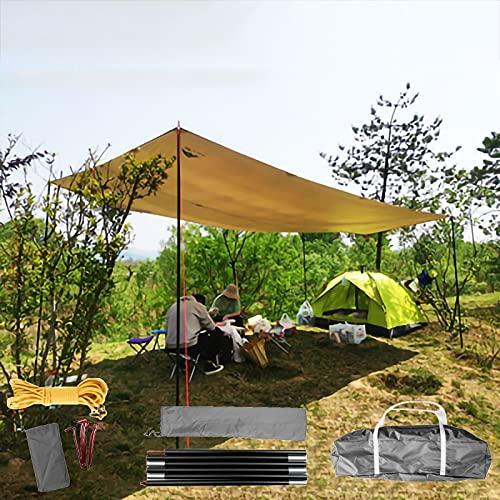 QDTD Toldo Vela de Sombra Toldo Triangular Vela Impermeable Protección Rayos 95% UV,Toldo Resistente e Lmpermeable,para Patio,Exteriores,Jardín(Color: Pasto Verde)(Size:5 * 3m)