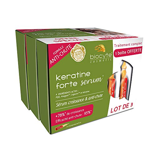Biocyte - Pack Kératine Forte - Formule...