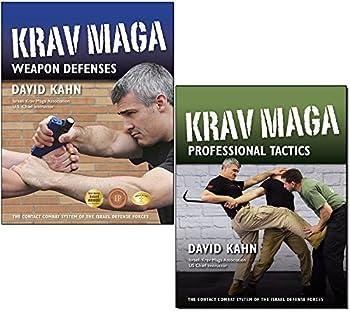 Bundle  Krav Maga books by David Kahn Israeli Krav Maga Association s U.S Chief Instructor