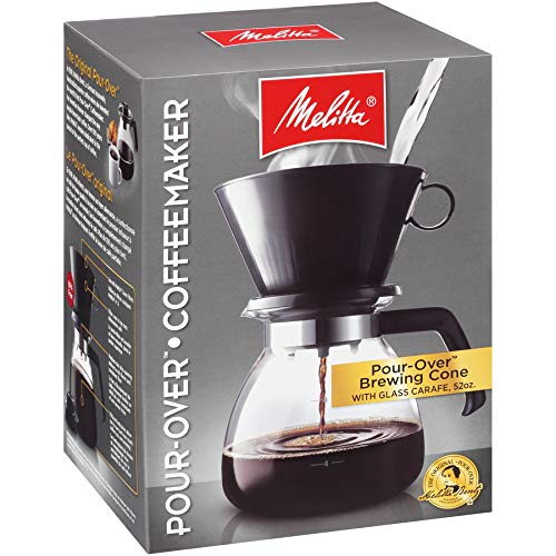Melitta 640616 Coffee Maker, 52 oz, Glass Carafe