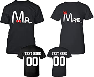 mr and mrs perfect t shirt