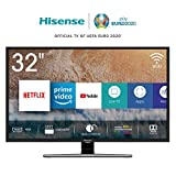 "Foto Hisense H32AE5720 TV Smart TV LED HD 1366 x 768 pixel, 32"", Single Stand, USB Media Player, Tuner DVB-T2/S2 HEVC Main10 [Esclusiva Amazon - 2019]"