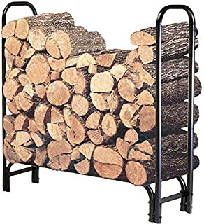 Landmann USA FBA Landmann 82413 4-Foot Firewood Log Rack (Cover not included), 4-Feet