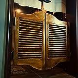 GuoWei Café Persiana Puerta De Vaivén Interior Ingreso Bar Cocina Bisagras Incluido De Madera, Personalizable (Size : 90cmx90cm)