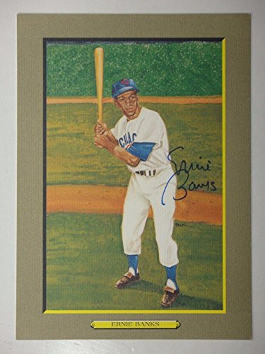 Ernie Banks Beckett Bas Signed Perez-steele Great Moments Card #21 B95370 Auto - MLB Autographed Baseball Cards