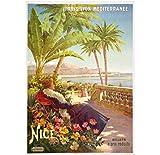 Jinliushi Frankreich Reiseplakate Nizza -