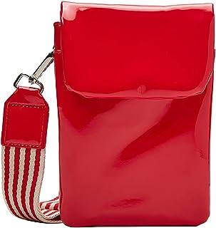 s.Oliver Damen Mini-Bag in Lackleder-Optik red 1