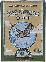 Down To Earth Organic Bat Guano Fertilizer Mix 9-3-1, 2 lb