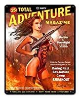 なまけ者雑貨屋 Total Adventure Magazine メタルプレート レトロ アメリカン ブリキ 看板 バー ビール おしゃれ インテリア