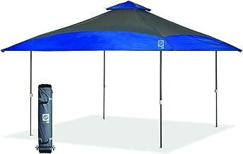 E-Z UP SCSG13RB 13' Spectator Instant Shelter, Steel Gray/Royal Blue