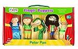 Tellatale T-2377 - Juego de marionetas de dedo, diseño de Peter Pan , color/modelo surtido