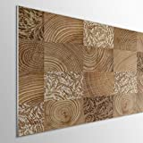 MEGADECOR DECORATE YOUR HOME Cabecero Cama PVC 5mm Decorativo Económico. Modelo - Coffman (150x60cm)