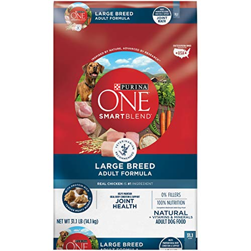 Purina ONE Natural Large Breed Dry Dog Food, SmartBlend Large Breed Adult Formula - 31.1 lb. Bag