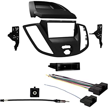 SCOSCHE HY1631B 2012-Up Hyundai Accent Radio Delete Option Double DIN or DIN w//Pocket Install Dash Kit