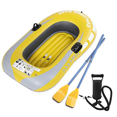 ACEWD Fishing Dinghy Raft Inflatable Kayak Inflatable Boat for Kids Inflatable Rafts Inflatable Boat for Pool CheapB