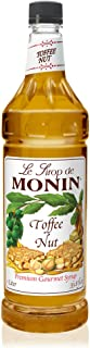 Monin - Toffee Nut Syrup, Bold and Buttery, Great for Coffee and Desserts, Gluten-Free, Vegan, Non-GMO (1 Liter)