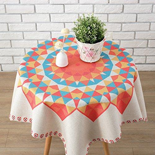 Europese tafelkleed katoenen tafelkleed, dikker katoenen doek tafelkleed eettafel thuis kleine verse vierkante ronde tafel salontafel tafelkleed Cover doek