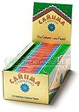 Canuma Hanfblättchen Zigarettenpapier aus Hanf Papers 250x Heftchen/Booklets (5 Boxen)