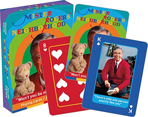NMR DISTRIBUTION Mister Rogers Playing Cards | 52 Card Deck + 2 Jokers