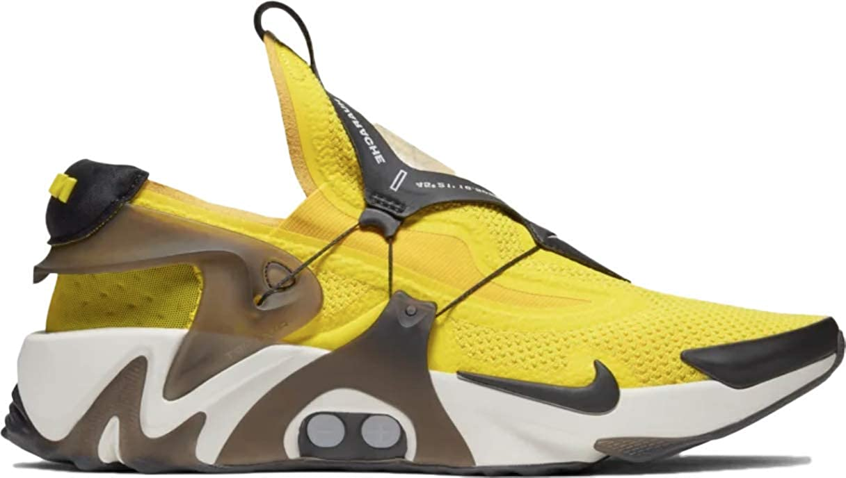 Amazon Com Nike Adapt Huarache Opti Yellow Bv6397 710 Size Shoes