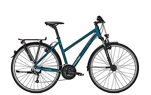 Trekkingrad Raleigh RUSHHOUR 3.0 HS Damen 28' 27-G Magura HS 11, Rahmenhöhen:55;Farben:Navyblue matt