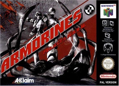 Armorines Project Swarm - Nintendo 64 - PAL