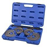 Hesselink® FS-3000 I Innen-Federspanner mit Tellersystem I Universal Werkzeug I Einsetzbar bei allen gängigen Automarken