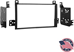 Metra 95-5810 Double DIN Installation Dash Kit for 2003-2007 Lincoln Town Cars (Black)
