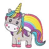 Zonfer Unicornio Patch 3D Etiqueta Engomada del Logotipo Remiendo del Hierro...