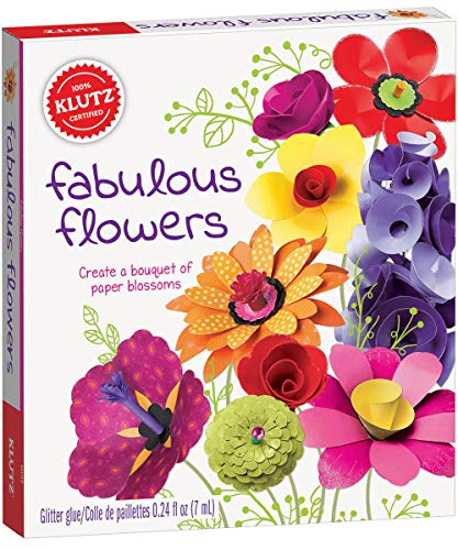 Klutz Fabulous Flowers Craft Kit