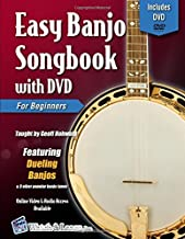 Easy Banjo Songbook with DVD For Beginners