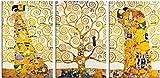 1art1 Gustav Klimt - Der Stoclet Fries, 1905-1911, 3-Teilig