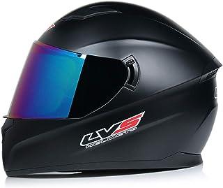 Herren Doppelobjektiv Motorradhelm, Anti-Fogging Klappbarer Motorradhelm Outdoor Motocross Helm Mountain Moto Zubehör