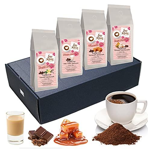 Aromakaffee - aromatisierter Kaffee Verwöhnpaket