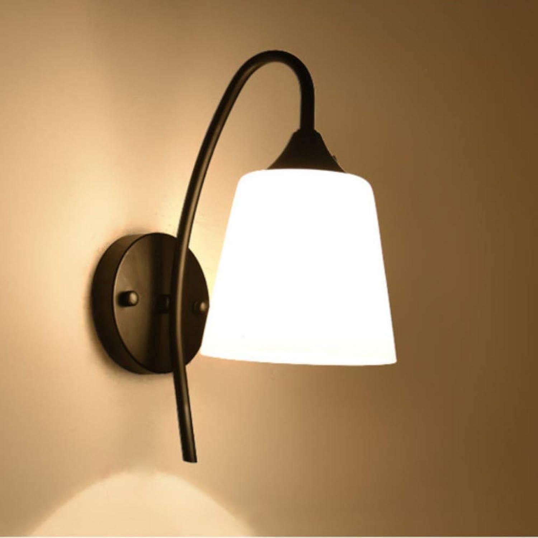 LIUJINHAI Retro einfache Wandleuchte Amerikanischen Schlafzimmer Wandleuchte E27 Lampe nachtwandleuchte Gang tür Lampe direkt ab Werk