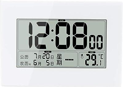 LCD Large UK Radio Controlled Digital Wall Clock Table