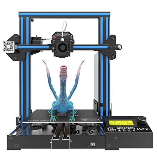 3D Printer,GIANTARM Geeetech A10 Pro 3D printer with large installation space: 220 * 220 * 260mm, quick to assemble DIY kit. For 1.75mm PLA.