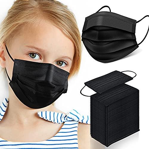 Kids Disposable Mask, 100 Pcs Kids Face Masks, Childrens Disposable Face Mask, Disposable Kids Face Masks for Kids Boys Girls