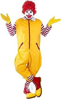 Adult Yellow Clown Costume (Size: Standard)