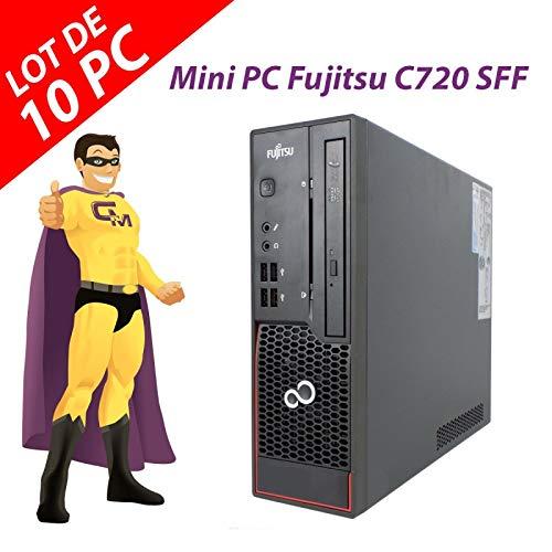 Fujitsu Mini-PC Esprimo C720 SFF G3220 RAM 4 GB Festplatte 250 GB Windows 10 (wiederaufbereitet) 10 Stück