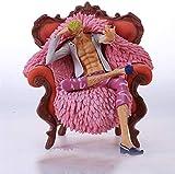 JPSOUP Anime Figure One Piece, One Piece, Qiwuhai GK Sofa Dondo Flamenco, Modelo...